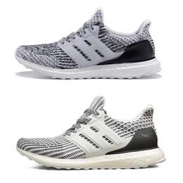 Wholesale s run - 2018 Running S 3.0 4.0 Triple Black White Oreo Blue red Men Women Hypebeast sneakers sports shoes size 36-45