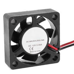 2019 rolamento de ventilador 12v 30 milímetros x 30 milímetros x 10 milímetros 2Pin 12V manga rolamento 6000RPM ventilador de refrigeração desconto rolamento de ventilador 12v