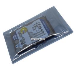 Électronique de bouclier en Ligne-Sac antistatique supérieur ESD antistatique Sacs Electronique antistatique Emballage Poly Sac Pochette d'emballage de protection en plastique 13 * 18cm