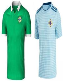 Wholesale ireland soccer jersey - Free shipping New 2018 Northern Ireland world cup Jersey McNAIR green away K LAFFERTY DAVIS thai quality Northern ireland soccer Jersey