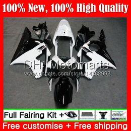 HONDA CBR900RR için gövde Siyah beyaz CBR 954 RR CBR900 RR CBR954RR 02 03 41MT22 CBR954 RR CBR 900RR CBR 954RR 2002 2003 Fairing Karoser nereden