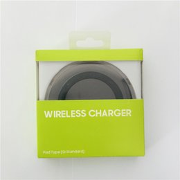 Wholesale Charge Induction - S6 Plastic Qi Wireless Chargers Induction Coil Fast Charging High Efficient Conversion Energy Saving Weapon Chargers For Samsung Galaxy S6
