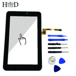 Wholesale Mediapad Digitizer - New For Huawei Mediapad 7 Youth2 Youth 2 S7-721U S7-721 Touch Screen Glass Digitizer Panel Touchscreen Sensor + Free Shipping
