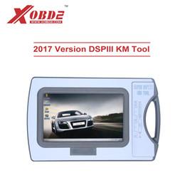 Outils pour km en Ligne-2017 dispositif de correction d'odomètre d'outil de DSP3 DSPIII de KM de DSP III pour 2010-2017 années de nouveaux modèles par OBD2