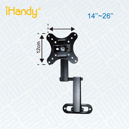 Wholesale Universal Lcd Mount - wholesale iHandy IH-CP101 HOT SALE UNIVERSAL 2014 New Aluminum Full Motion Height Adjustable removable telescoping lcd tv wall mount