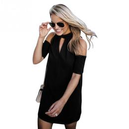4cb304e90c 2018 Fashion Sexy Women Deep V Neck Dress Summer Beach Dresses Ladies Short  Sleeves Casual Solid Dress