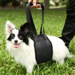 Wholesale Sling Harness - Portable Elderly Disabled Pet Auxiliary Belt Dog Lift Support Go Upstairs Pets Rehabilitation Harness Assist Sling New