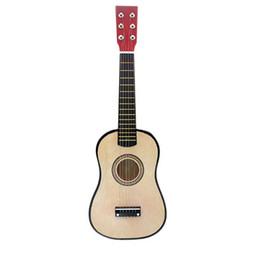 Großhändler verkauft 23-Zoll-Gitarre Anfänger Kind Spielzeug Praxis wenig Gitarre Lindenholz Gitarre von Fabrikanten