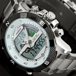 weide militär Rabatt 2017 Top Luxusmarke WEIDE Männer Mode Sportuhren herren Quarz LED Uhr Mann Army Military Armbanduhr Relogio Masculino Y1892107