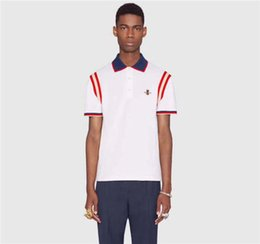 Wholesale G Tshirt - BBB New Italy Designer Runway Fashion Letter Print Men Casual Cotton short sleeve t-shirt g&g tshirt T Shirts Slim with tags M-3XL