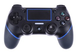 Wholesale Joystick Vibration Game - 50X New PS4 USB Wired Controllers Gamepads for PS4 Game Controller Vibration Wired Joystick for PlayStation 4 Console Gamers Not Wireless