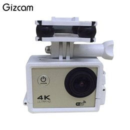 2019 parte de cámara drone Gizcam Upgrade HD 2MP WIFI Cámara FPV para Syma X8C X8G X8W Drone RC H5C RC Quadcopter Accesorios de soporte para clip de teléfono Repuestos parte de cámara drone baratos
