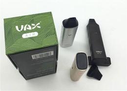 Vax vape en Ligne-TOP VAX AIR vaporisateur d'herbes sèches kit de stylo vape à base de plantes