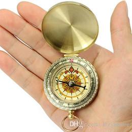 2019 chaveiro da bússola de bolso htsport Atacado-newPopular Mini Luminous Pocket Watch Estilo Ring keychain Camping Caminhadas Compass Navigation NO181 5V2D desconto chaveiro da bússola de bolso