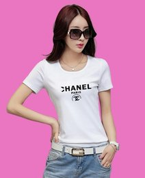Wholesale pretty prints - Print women summer style t-shirts Cotton fashion brand pretty tee shirt femme new hipster tops