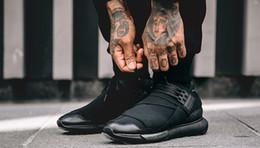 scarpe qasa Sconti 2018 New Style Y-3 QASA RACER Hight Sneakers Scarpe casual traspiranti Coppie Y3 Outdoor Scarpe da ginnastica Taglia Eur36-44