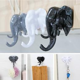 Wholesale Nose Hooks - American elephant nose hooks for hanging modeling wall decoration wall living room bedroom coat hook
