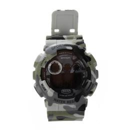 587778fd9ef Sanda data alarme infantaria do exército dos homens à prova d  água led  digital esportes relógio de borracha