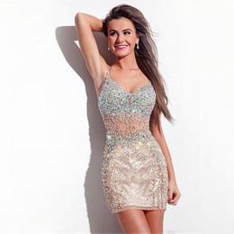 Argentina Sexy tirantes de espagueti de la envoltura corta vestidos de baile cuentas de cristal del corsé de la falda de tul puffy vestido de fiesta de fiesta desgaste del vestido Vestidos del desfile real Suministro