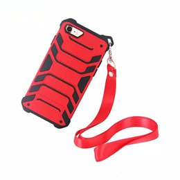 Wholesale lanyard plastic case - Spider-Man New Design Case For Iphone 7 8 X With Lanyard Cell Phone Protective Cases For Samsung S9 S9+ With Retail Package