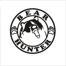 Arma pôsteres on-line-Caça dog hound sticker caçador de veados clube decalque loja de armas reflexivo poster de vinil CA-423