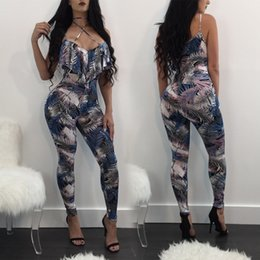 7e3878fcc642 Fashion sexy nightclub denim skinny jumpsuit backless bodysuit europe and  the united states jumpsuits sexy suspender bodysuit
