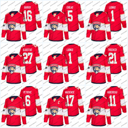 Womens 100th Patch 2018 Season Florida Panthers  5 Aaron Ekblad  1 Roberto  Luongo  16 Aleksander Barkov 68 Jaromir Jagr Ice Hockey Jerseys f7aea9ca3