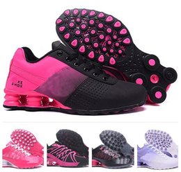 Wholesale Womens Pink Tennis Shoes - Classic Women Running Shoes Avenue OZ Womens Athletic Sport Shoe Pink Outdoor Walking Sneakers baksetball shoes Sneakers tennis shoes 36-40