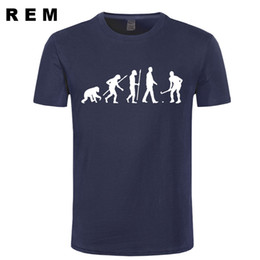 Wholesale Fields Fashion - REM casual popular Evolution Field Hockeyer Men's T-Shirt 100% cotton male tops tee hot sell fashion O-Neck T Shirt