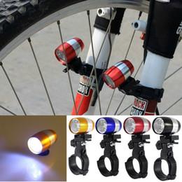 scheinwerfer führte freies verschiffen Rabatt 1 stücke 6 LED mini Radfahren Fahrrad Frontscheinwerfer Warnleuchte Sicherheit Wasserdichte scheinwerfer mit Lampenfassung freies verschiffen
