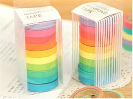 2019 carta adesiva glitter 2016 moda fai da te brillante caramelle di colore solido washi nastro adesivo washi nastro di carta C156