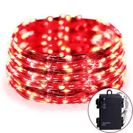 Luz de la secuencia de la Navidad Impermeable con pilas 30 LEDs 9.9ft hilo de cobre / alambre de plata, luz flexible de la cuerda de la decoración con el contador de tiempo para la fiesta desde fabricantes
