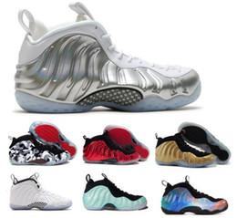 Wholesale mediums phoenix - Luxury Penny Hardaway Basketball Shoes Sneaker Mens Man Silver 1 One Pro Mike Rust Island Copper Tech Fleece Concord Phoenix Chian Foam Shoe