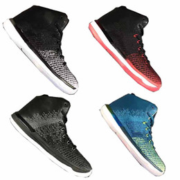 Wholesale fine fabrics - 2018 Black Cat 31 Basketball Shoes Men Designer Sneakers Sportswear Fine Print Brazil Running Shoes With AAA+ Quality