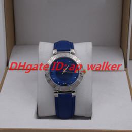 Модные женские часы DAPHNIS Стальной корпус Синий кожаный ремешок Швейцарский кварцевый механизм Греческая богиня от