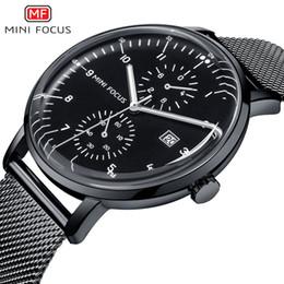 b95a54b2851 MINI FOCUS Mens Relógios Top Marca de Luxo Negócio de Moda Relógio De  Quartzo Luminoso Homens De Aço À Prova D  Água Calendário Pulso Relógio  Masculino ...