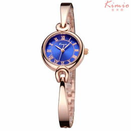 2019 марка kimio KIMIO Watches Women Top  Wristwatch roma number watch Quartz Bracelet Watches Lady Clocks Relogios Feminino 6209 дешево марка kimio