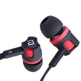 Telefone celular marca blackberry on-line-Mais novo original marca fones de ouvido jm26 fone de ouvido isolamento de ruído no ouvido fone de ouvido fone de ouvido com microfone para o telefone móvel universal para iphone mp4
