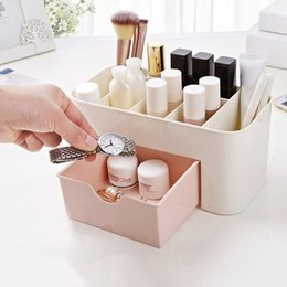 dresser box Coupons - Dresser cosmetic case Lipstick Case Sundries With small drawer Jewelry Box Small Objects Box Mini Makeup Storage