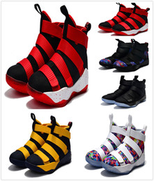 Wholesale Special Shoes Men - 2018 New Men Special Limited Edition James Soldiers 11 Men's Basketball Shoes for White Man-at-arms XI Sports Court General Sneakers 7-12