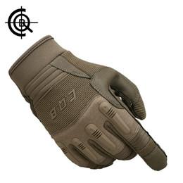 Condición física de la motocicleta online-2018 CQB Tactical Gloves Army Full Finger Fitness Glove antideslizante Protect Workout Gloves Guantes de ciclismo de motocicleta envío gratis