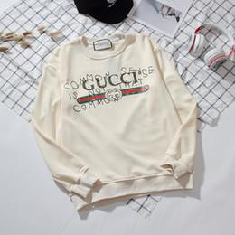 2019 varietà abbigliamento all'ingrosso Mens cappuccio lettere modello sweathshirt Fashion Casual maniche lunghe Via Hip Hop Pullover per il 2019 del nuovo Mens Clothes.B41