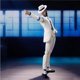 Argentina Figuarts Rey de POP MJ Michael Jackson Moonwalk Figura de acción de PVC Juguete de colección Modelo Suministro