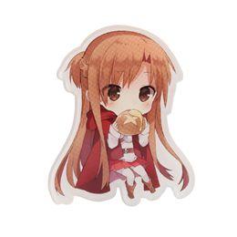 Wholesale anime asuna - FFFPIN Japan Anime Cartoon Brooch Sword Art Online Kirito Yuuki Asuna Sinon Badge Cloth Ornament Breastpin Pin Decoration Rozet