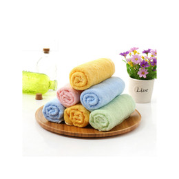 Wholesale Children Kitchen Accessories - Bamboo fiber bath baby towel antibacterial for kids Children with kitchen towel newborn towels bibs washcloth Baby accessories