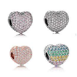 2019 pulseiras pandora completo 20 PCS Liga de Cristal Cheia de Miçangas Encantos Para Pandora DIY Jóias Pulseiras Europeus Pulseiras Mulheres Meninas Melhores Presentes B018 desconto pulseiras pandora completo