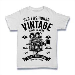 Retro Camera Vintage Photomachine T-shirt Vest Tank Top Men Women Unisex 1387