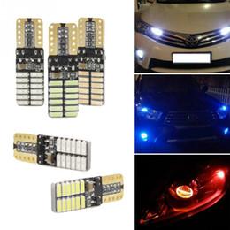 Lumières de passat en Ligne-Voiture Canbus T10 w5w 12SMD 24SMD 57SMD 4014LED Largeur Lampe pour Volkswagen vw POLO Golf 5 6 7 GTI Passat b5 B6 JETTA MK5 MK6