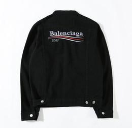 Wholesale Denims Jacket Men - Ma1 Men Women kanye yeezus Denim jacket Y 3 Vintage Loose Jeans supre Denim jacket AAPE Coat Oversized