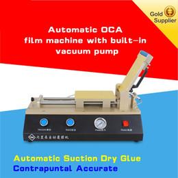 máquina de laminação oca Desconto 3in1 Auto OCA polarizador laminador de Filme laminador máquina Embutida Bomba de Vácuo com compressor de ar Para O Telefone Reparação de Tela LCD